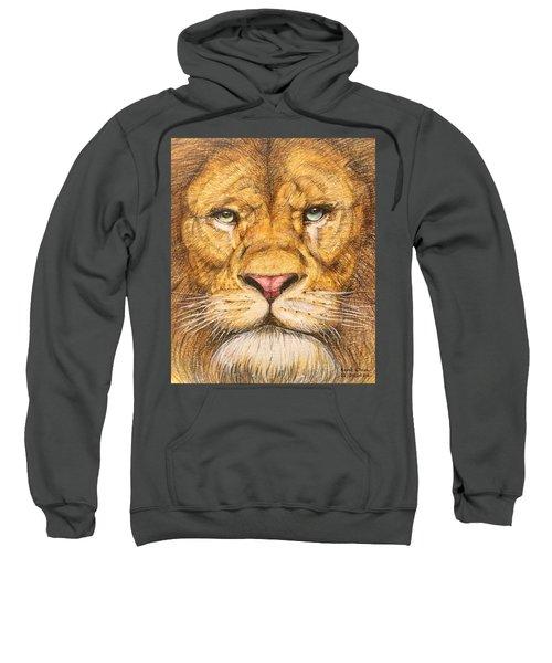 The Lion Roar Of Freedom Sweatshirt by Kent Chua
