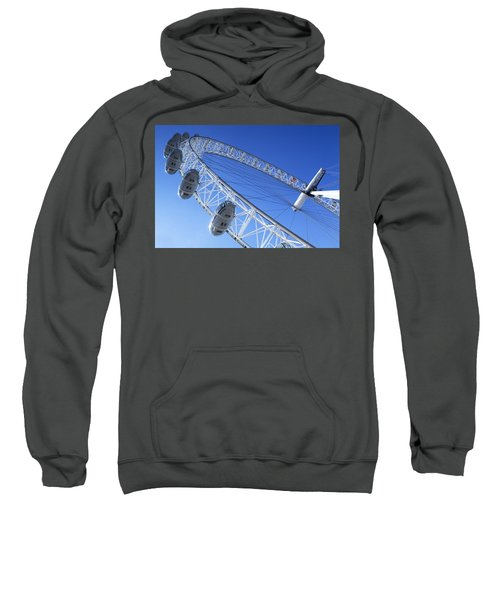 The London Eye, Close-up Sweatshirt by Simon Kayne