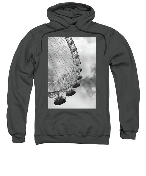 The London Eye, London, England Sweatshirt