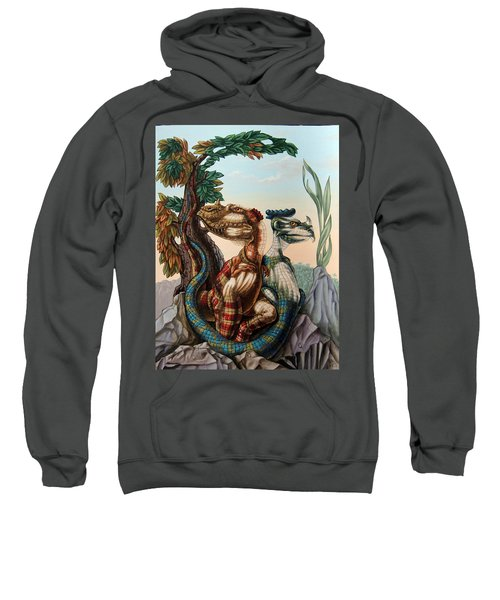 The Lost World  By Sir Arthur Conan Doyle Sweatshirt