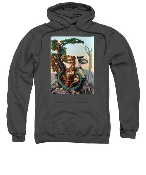 The Lost World  By Sir Arthur Conan Doyle Sweatshirt