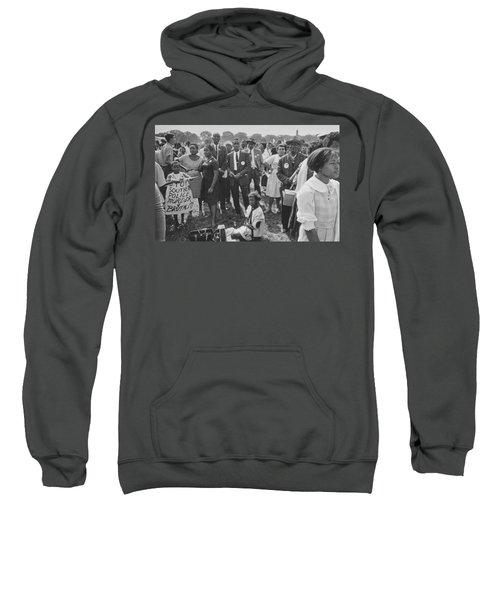 The March On Washington  Washington Monument Grounds Sweatshirt