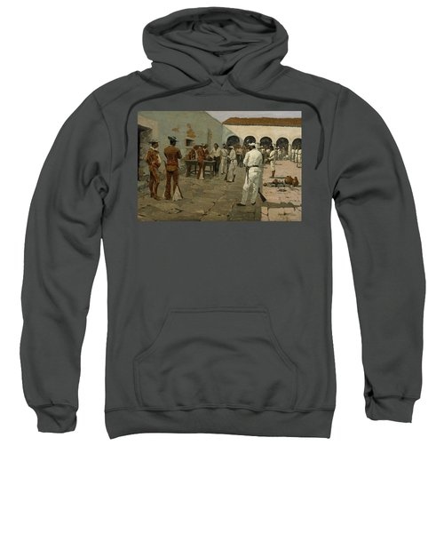 The Mier Expedition The Drawing Of The Black Bean  Sweatshirt