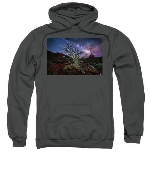 The Milky Way Tree Sweatshirt