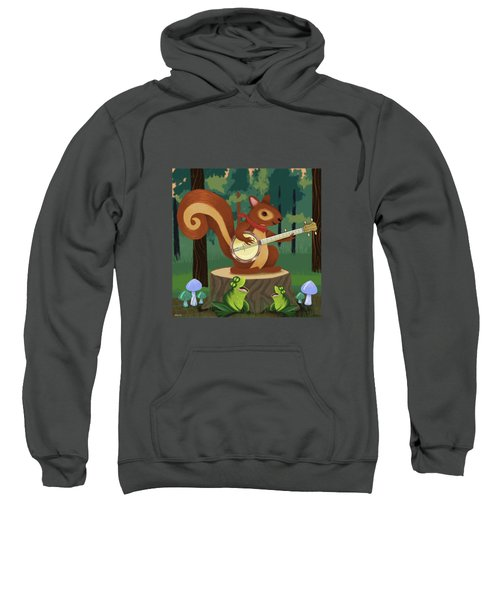The Nutport Croak Music Festival Sweatshirt by Little Bunny Sunshine