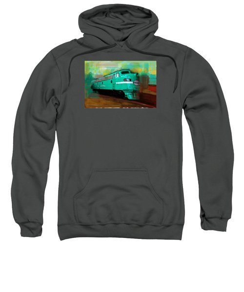 Flash II  The Ny Central 4083  Train  Sweatshirt