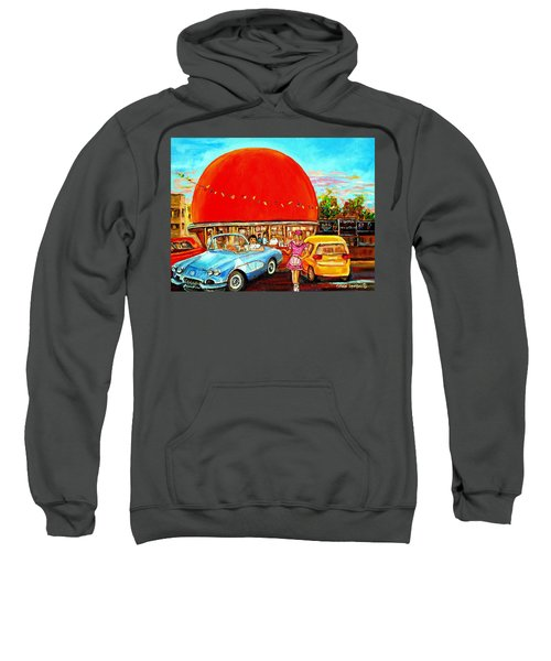 The Orange Julep Montreal Sweatshirt