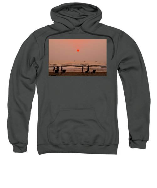 The Orange Moon Sweatshirt