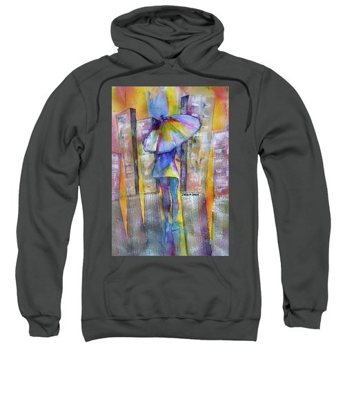 The Other Girl In The City Sweatshirt
