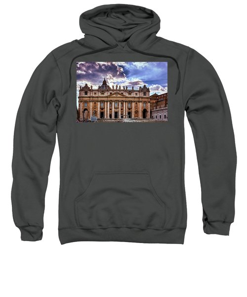 The Papal Basilica Of Saint Peter Sweatshirt