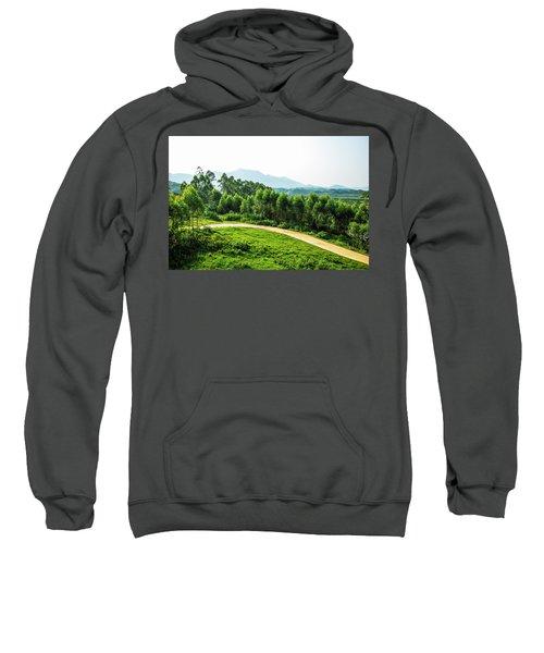 The Path In The Mountain Sweatshirt
