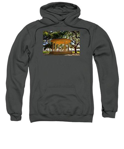 The Pavilion At Battery Park Charleston Sc  Sweatshirt