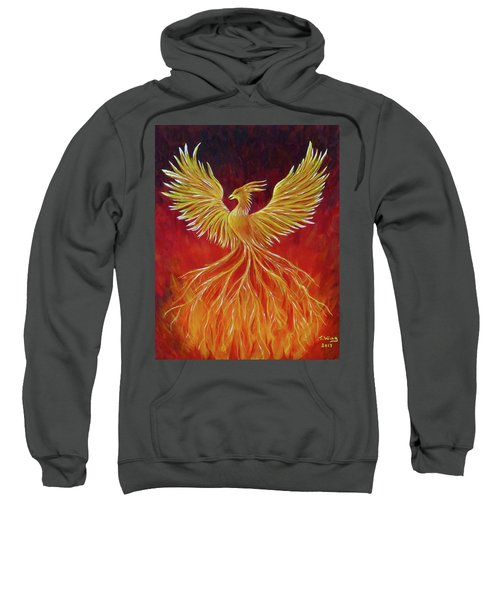The Phoenix Sweatshirt by Teresa Wing