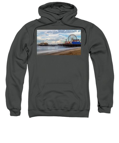 The Pier On A Cloudy Day Sweatshirt