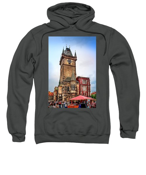 The Prague Clock Tower Sweatshirt