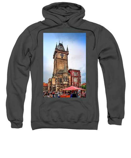 The Prague Clock Tower Sweatshirt