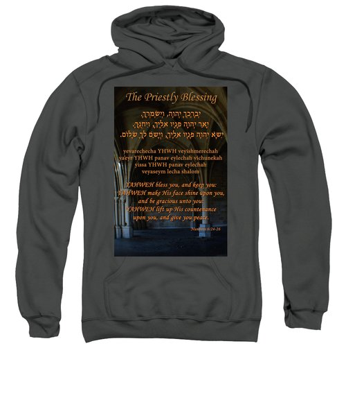 The Priestly Aaronic Blessing Sweatshirt