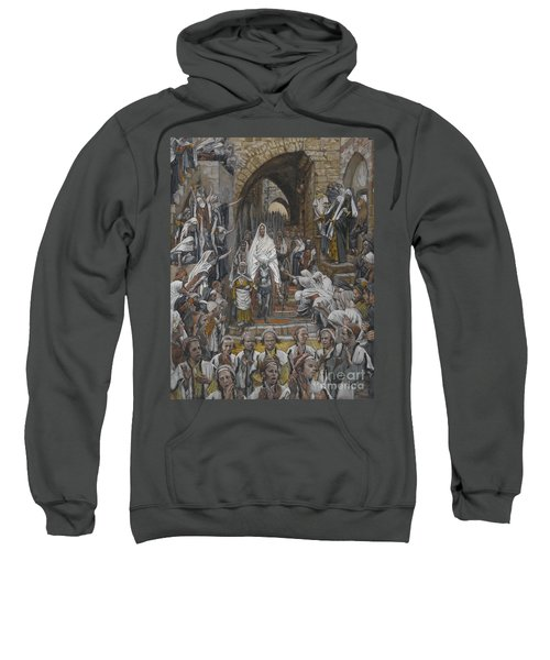 The Procession In The Streets Of Jerusalem Sweatshirt