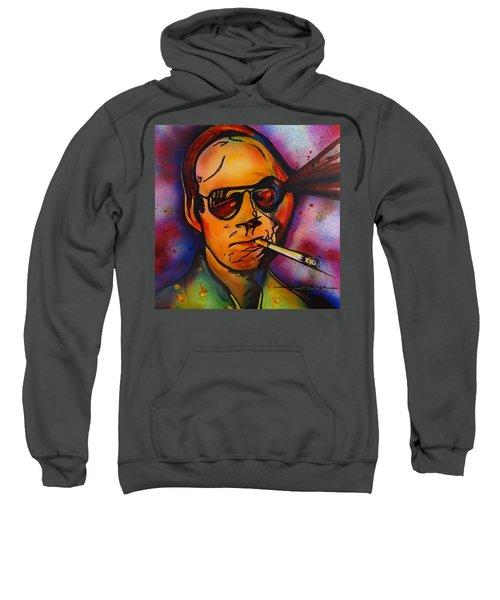 The Psycho-delic Suicide Of The Tambourine Man Sweatshirt