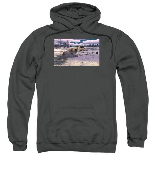The Rhythm Of Frost Sweatshirt