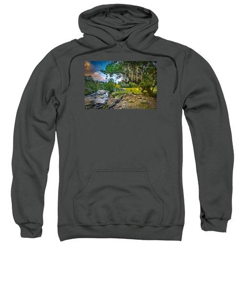 The River At Cocora Sweatshirt