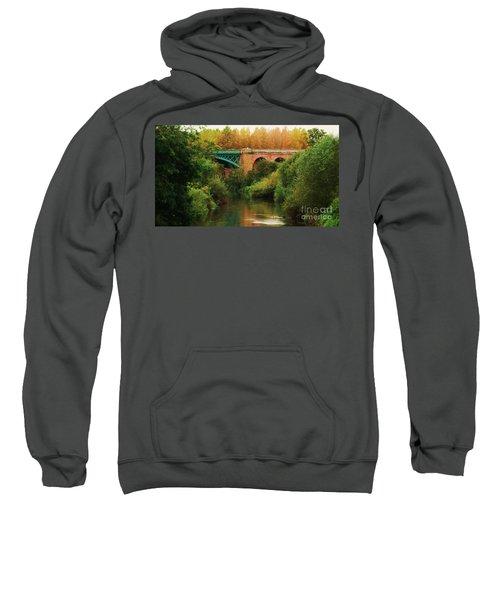Bridge Over The River Derwent Sweatshirt