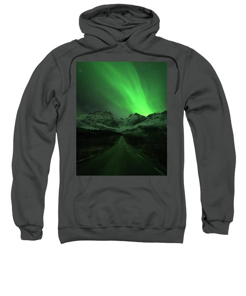The Road To Nusfjord Sweatshirt
