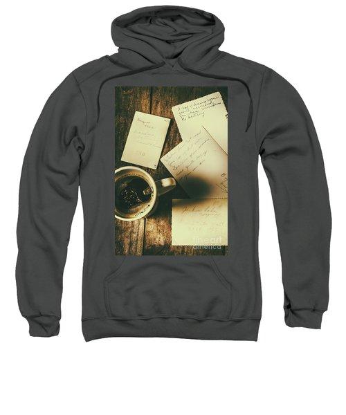 The Romantic Writers Loft Sweatshirt
