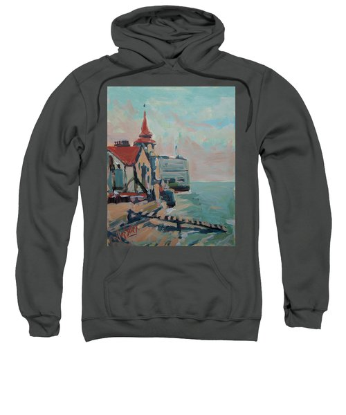 The Round Tower Of Portsmouth Sweatshirt