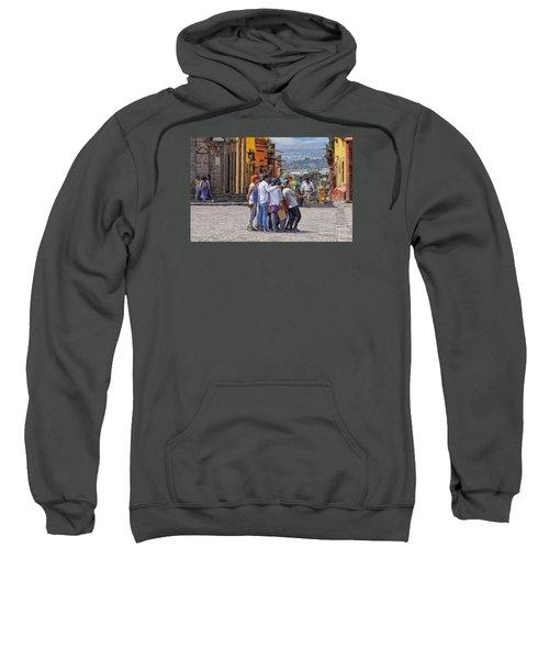 The San Miguel Selfie Sweatshirt