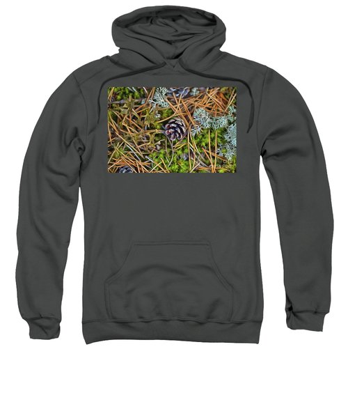 The Scent Of Pine Forest Sweatshirt
