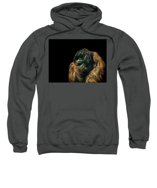 The Sceptic Sweatshirt by Paul Neville