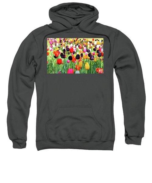 The Season Of Tulips Sweatshirt