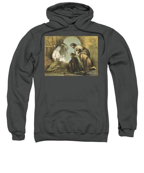 The Shepherds Finding Jesus Sweatshirt