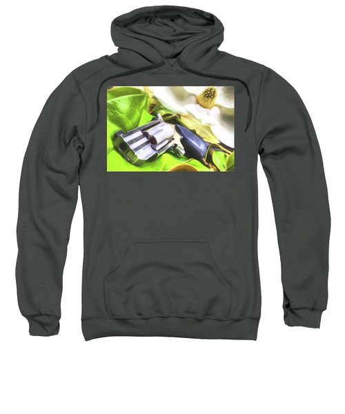 Sweatshirt featuring the photograph The Southern Debutante  by JC Findley