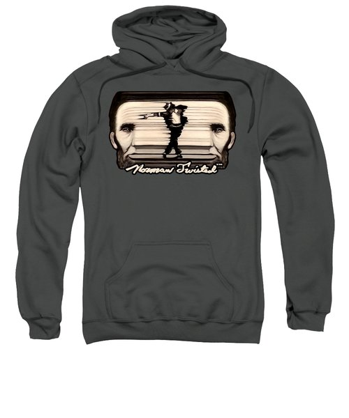The Spaghettification Of Mike And Abe Sweatshirt