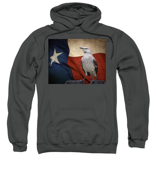 The State Bird Of Texas Sweatshirt by David and Carol Kelly