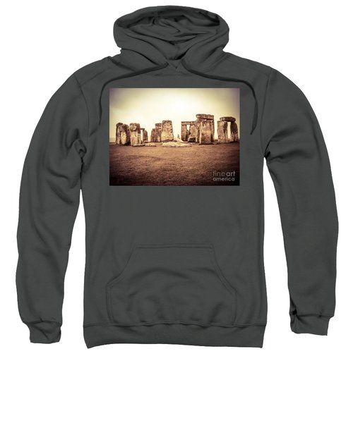 Sweatshirt featuring the photograph The Stones by Denise Railey