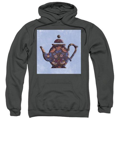The Strawberry Thief Pattern Teapot Sweatshirt