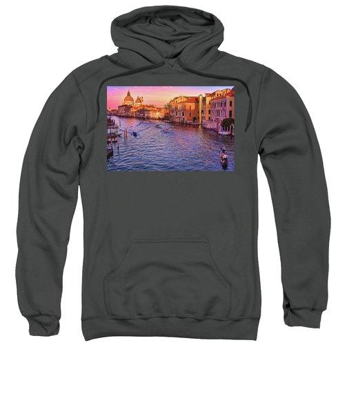 The Sun Is Setting In Venice Sweatshirt