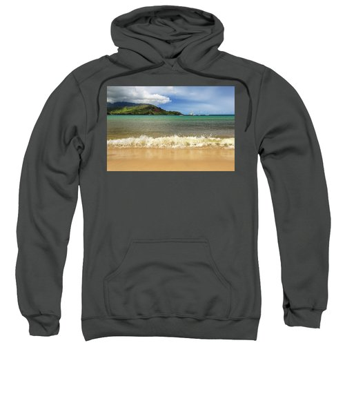 The Surf At Hanalei Bay Sweatshirt