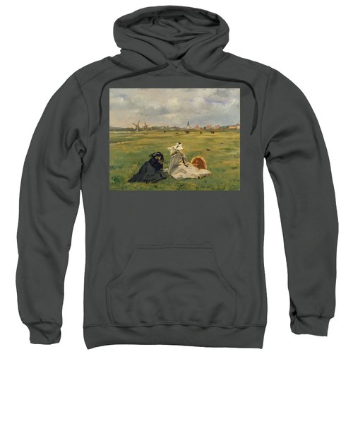 The Swallows Sweatshirt by Edouard Manet