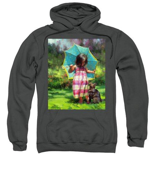 The Teal Umbrella Sweatshirt
