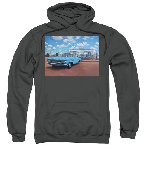 The Teepee Motel, Route 66 Sweatshirt