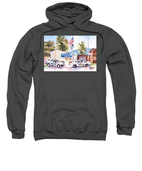 The Thin Blue Line Sweatshirt