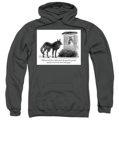 The Three Little Pugs Sweatshirt