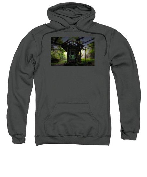 The Tram Leaves The Station... Sweatshirt