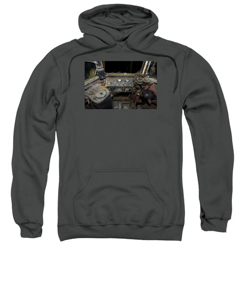 The Tram Leaves The Station... Instruments Sweatshirt