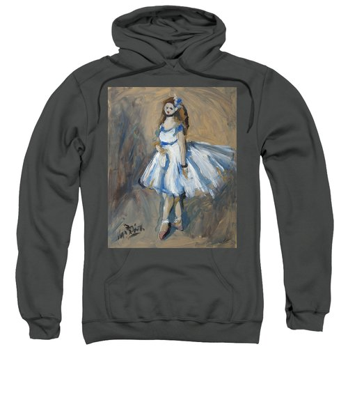 The Truth Lies Between Aguste Renoir And Marlene Dumas Sweatshirt