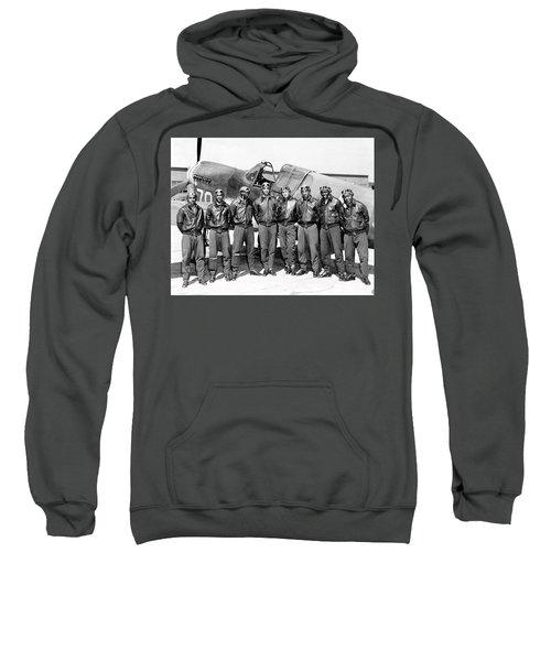The Tuskegee Airmen Circa 1943 Sweatshirt